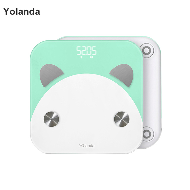 Delicieux Original Yolanda Smart Weight Scale Bathroom Digital Body Fat Weighing Mi  Scale Household Led Electronic Floor