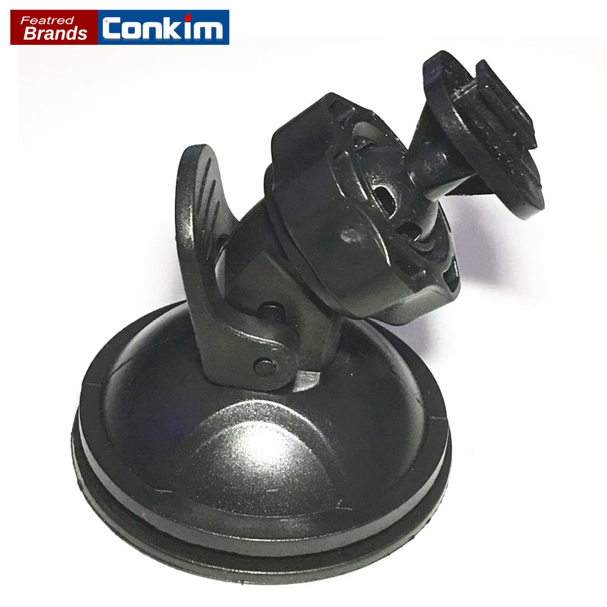 Conkim Black 360Degree Rotating G1W/G1WH DVR Holder For Sport DV Camera Mount DVR Holders Driving Recorder Suction GPS Holder h 548 bike motorcycle mount stand w 3m sticker for camera gps dv player black