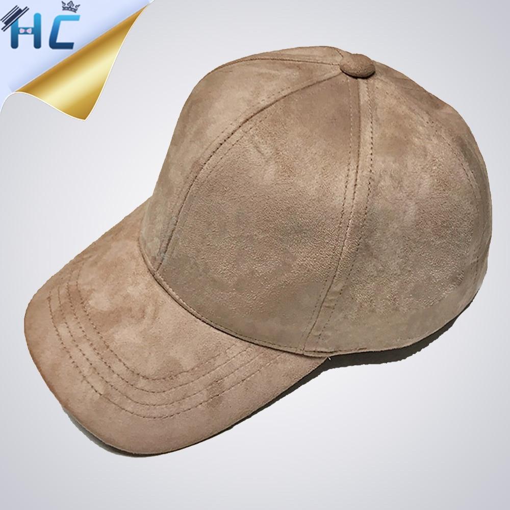 2016 New Brand Suede Baseball Cap For Men Snapback Outdoor Dad Hat Women Bone Golf Hip Hop Cap Casquette Chapeau Plain Gorras