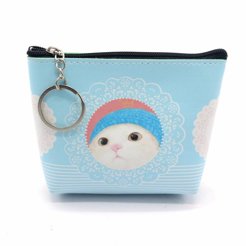 xiniu New Women Girls Lady Leather Small Wallet Coin Purse Clutch Bag Casual Cartoon Mini Wallets Hasp monedero mujer para moned
