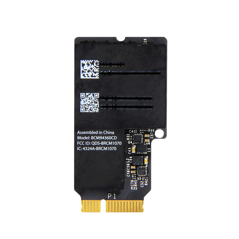 Broadcom 1300Mbps Wireless Adapter For Mini PI-E  Broadcom BCM94360CD With 802.11ac Bluetooth 4.0 For Apple IMAC