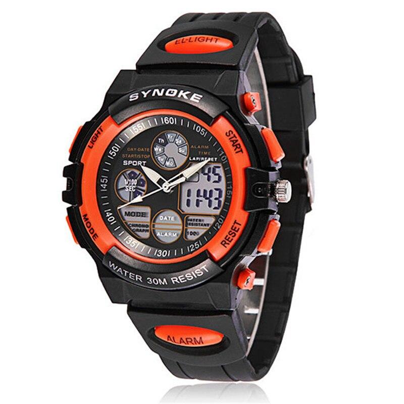 Fashion Waterproof Sports Watches Child Boy\'s Electronic Watch Multifunction Wrist Watches