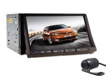 In dash 2din Car Stereo Radio GPS Navigation DVD Player Bluetooth iP TV+Camera