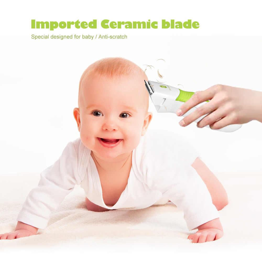 GL Электрический детский триммер для волос Машинка для стрижки волос уход за волосами для детей резак для резки Водонепроницаемый портативная бритва инструмент для детей домашних животных