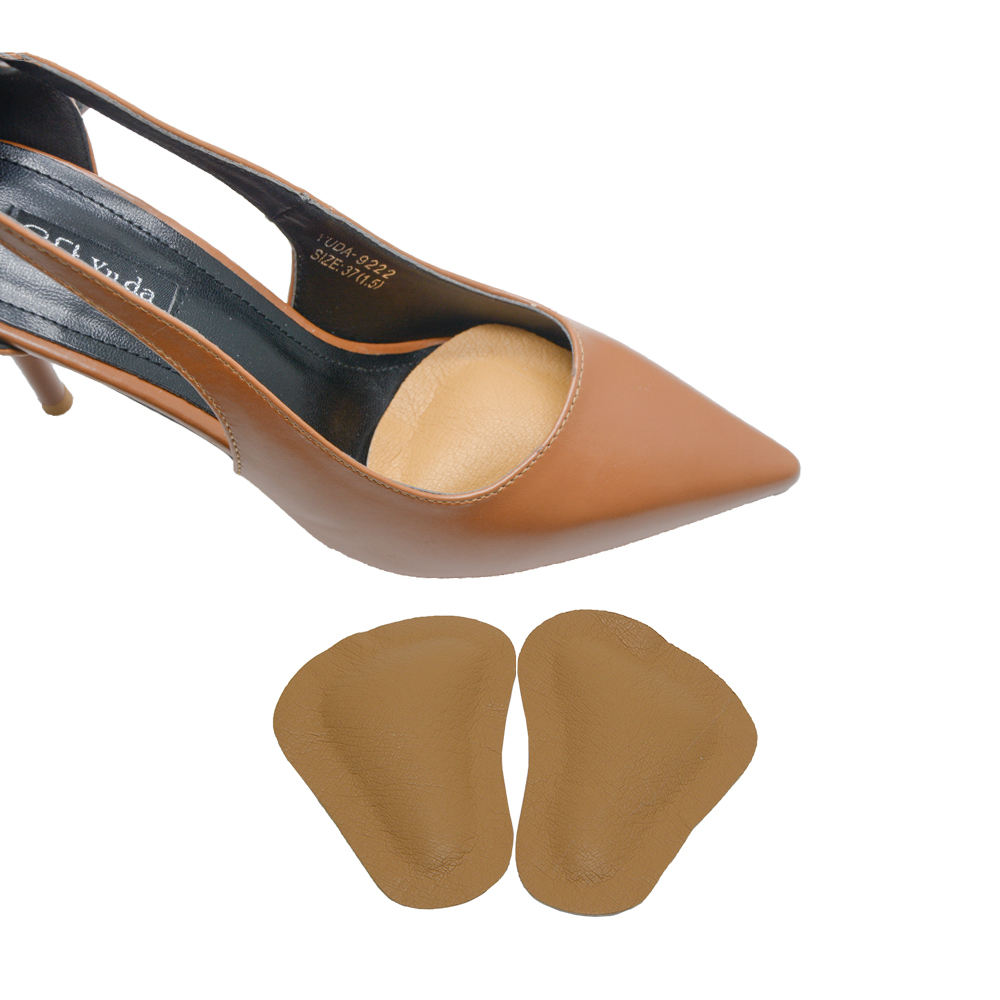 High-heeled Shoes Forefoot Pad leather Cushion Pad Orthotic Insole - Health Care - Photo 3