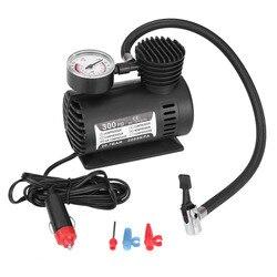 12 V 300 PSI Portable D'urgence Mini Compresseur D'air Électrique Auto Moto Tire Infaltor Pompe pour Auto Vélos Motos