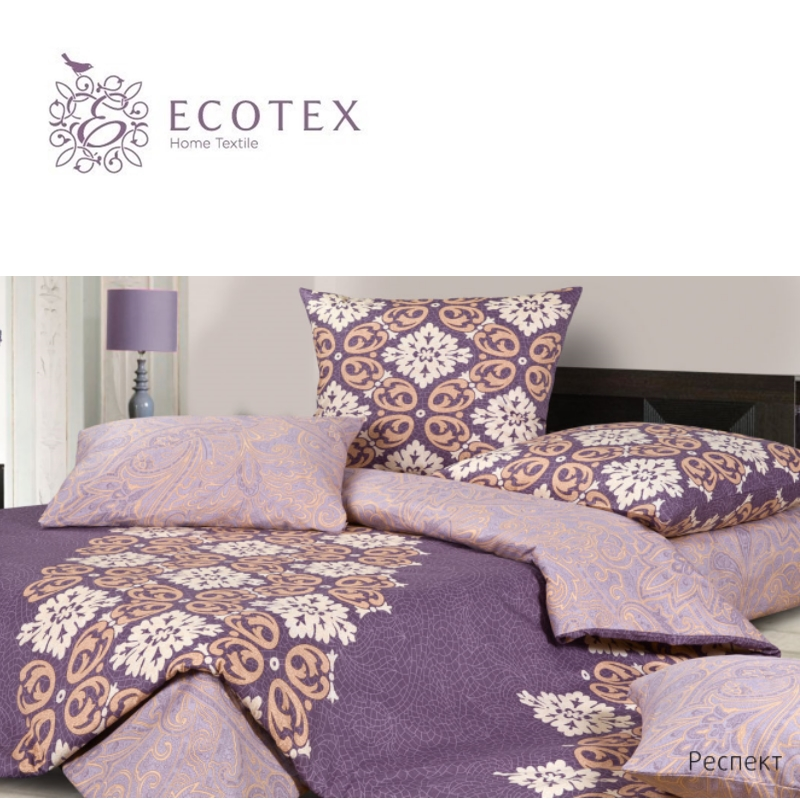 "Фото Bed linen ""Respect"", 100% Cotton. Beautiful, Bedding Set from Russia, excellent quality. Produced by the company ""Ecotex"""