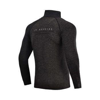 Li-Ning Men Running Jacket Seamless Fitness Knit Track Top Comfort Sweater Slim Fit Jogger LiNing Sports Jackets AWYN001 MWJ2520