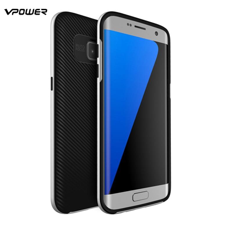 För Samsung Galaxy S8 / S8 Plus / S7 Edge Case Vpower Luxury Hybrid - Reservdelar och tillbehör för mobiltelefoner - Foto 4