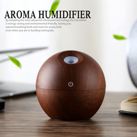 New Portable Mist Maker Aroma Essential Oil Diffuser LED Lights Ultrasonic Aroma Air Humidifier USB