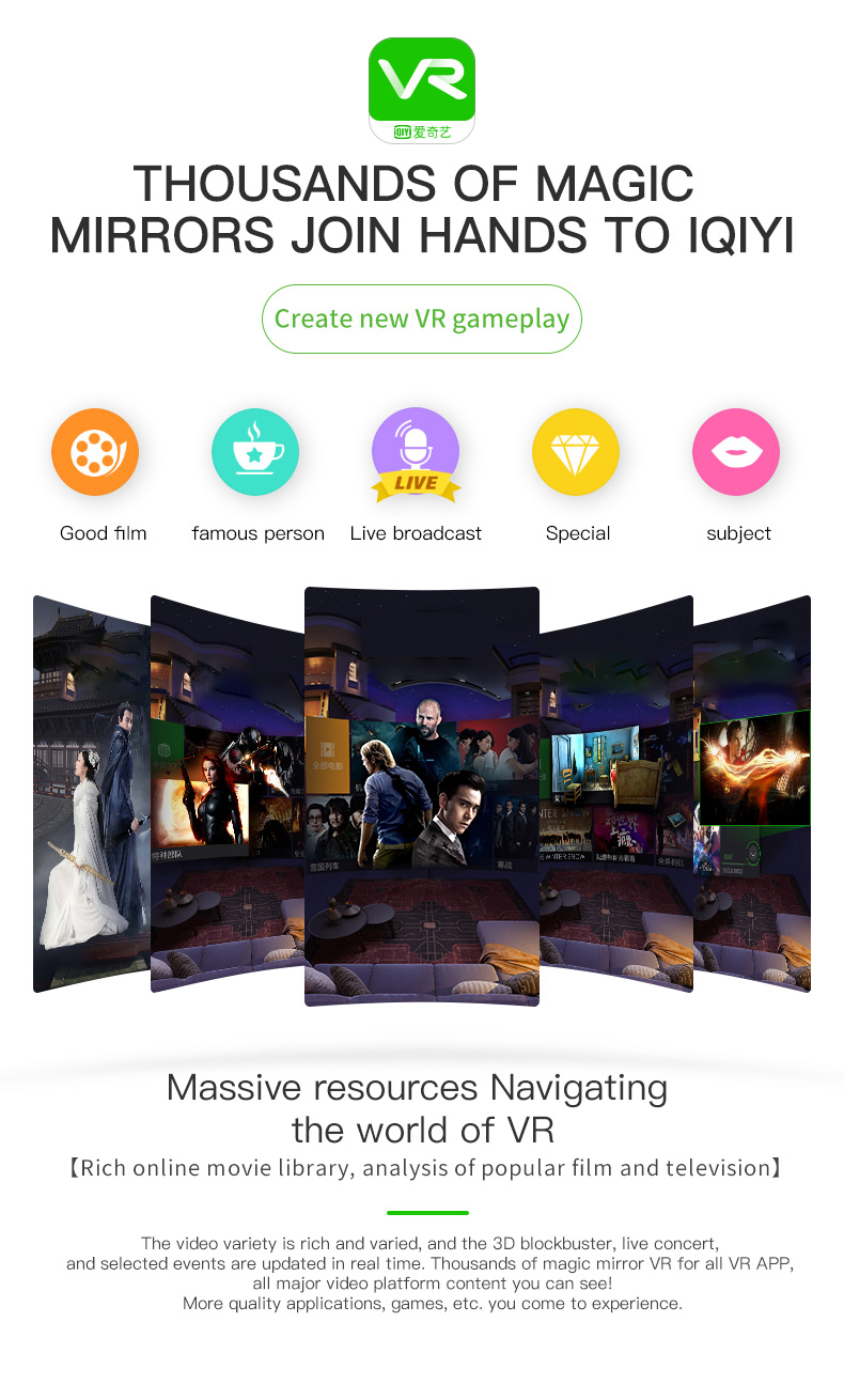 VR Shinecon G06 Viar Virtual Reality Glasses 3D For iPhone Android Smart Phone Smartphone Headset Helmet Goggles Casque Lens Set