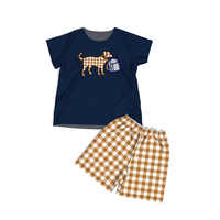 Baby Girls Outfits Kids Clothes Presale School Dog embroidery Boutique Clothing CONICE NINI Presale-004 Contact with seller
