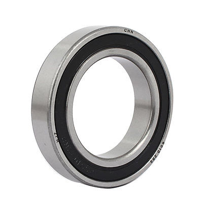 6010RS Double Rubber Sealed Deep Groove Ball Bearings Silver Tone 80mmx50mmx16mm gcr15 6326 zz or 6326 2rs 130x280x58mm high precision deep groove ball bearings abec 1 p0