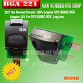 2017 новейшая версия 100% оригинальный GPG EMMC BGA адаптер 221 для GPG EMMC BOX j-tag box Бесплатная доставка