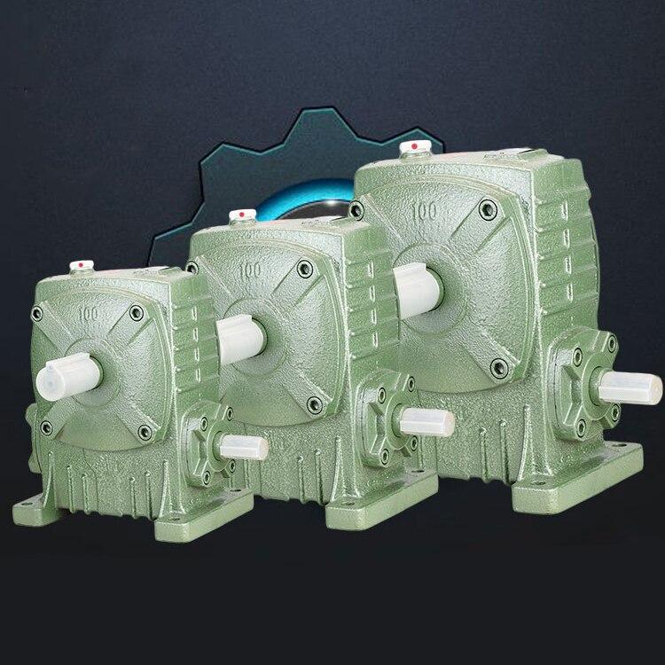 Wpa wps type 40 worm gear reducer speed ratio 1 10 1 15 1 20 1
