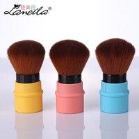 LAMEILA Makeup Blush Brush Portable Retractable Brush For Facial Loose Powder Compressed Powder Blush Blend Cosmetics