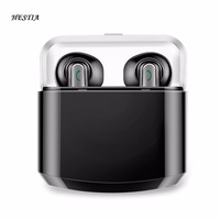 Mini Wireless Bluetooth Headset IPX Fans TWS Bluetooth Earbuds NFC Stereo Hifi Earphones With Microphone Separate
