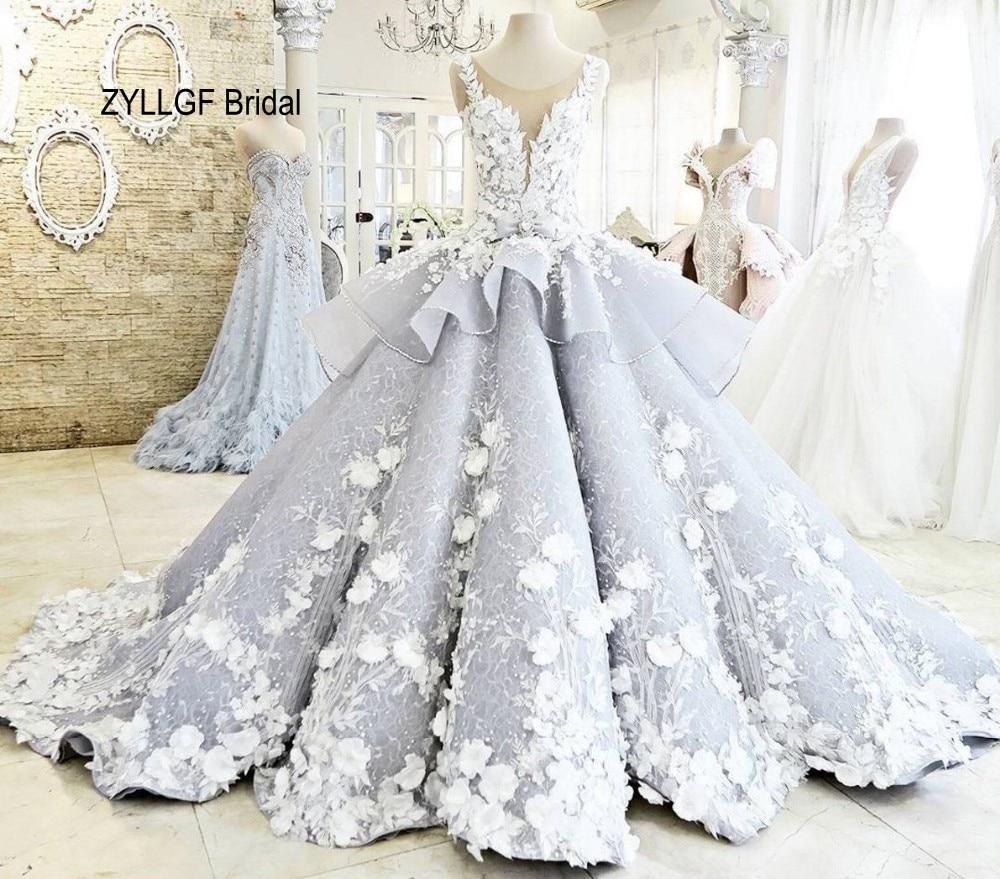 White dress design 2017 - Zyllgf Bridal Hot Design 2017 Wedding Dress Luxury Beaded Lace Vestido De Novia Sexy See Through