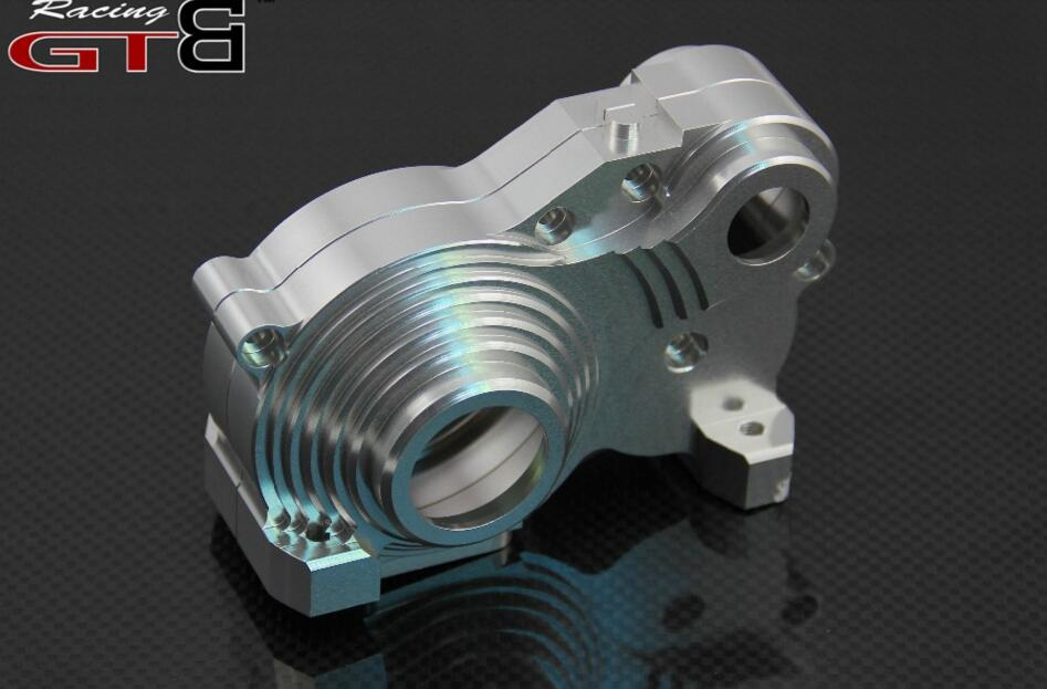 Metal gearbox  For 1/5 HPI Baja  5B  5T 5SC alloy front hub carrier for 1 5 hpi baja 5b 5t 5sc