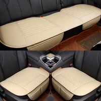 כיסוי מושב מכונית כרית מושב מכונית סדאן מחצלת מושב כללי ארבע עונות כיסוי מושב המכונית עור