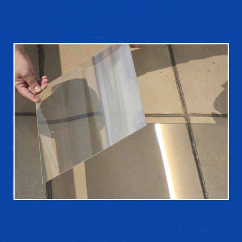 300x160mm 300x300mm grand optique PMMA plastique linéaire Fresnel lentille projecteur énergie solaire concentrateur focale 300mm 1 PC
