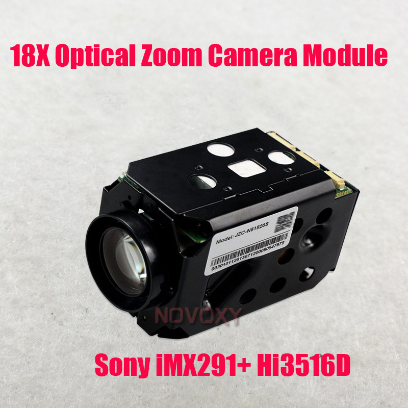 Free Shipping Starlight 2MP 4MP 1080P <font><b>IMX291</b></font> IP Zoom <font><b>Camera</b></font> <font><b>Module</b></font> 18x Optical 4.7-84.6mm Varifocal Lens CCTV Zoom <font><b>Camera</b></font> image