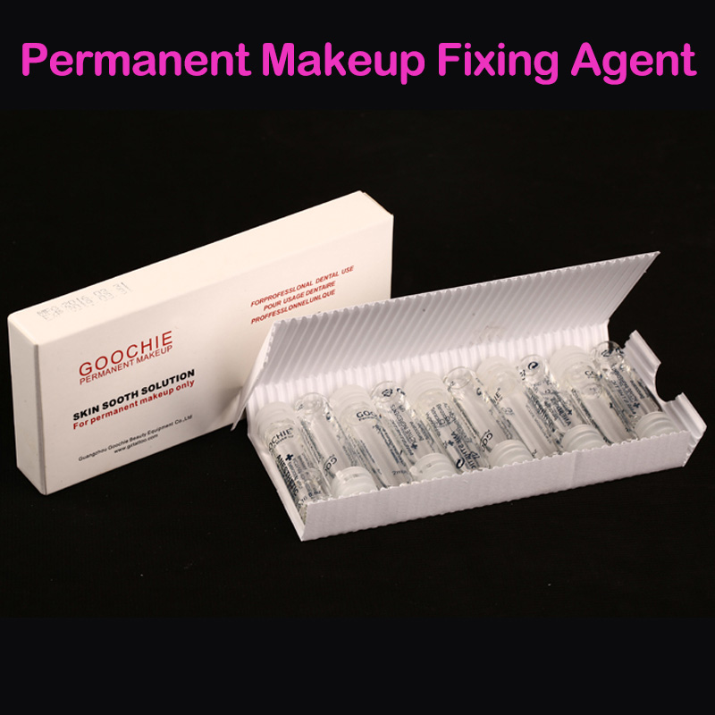 Goochie Permanent Makeup eyebrow lip stick tattoo soothing agent Skin Sooth Solution painless Fixing Agent Tattoo