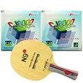 Pro de tenis de mesa de ping-pong Combo raqueta Yinhe N9s with2 piezas Palio CJ8000 BIOTECH H42-44 de tiempo Shakehand FL