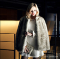 Women winter fashion elegant Leisure faux fur coat Gay fox fur soft comfort warm fur jacket high-grade luxurious fox fur coats
