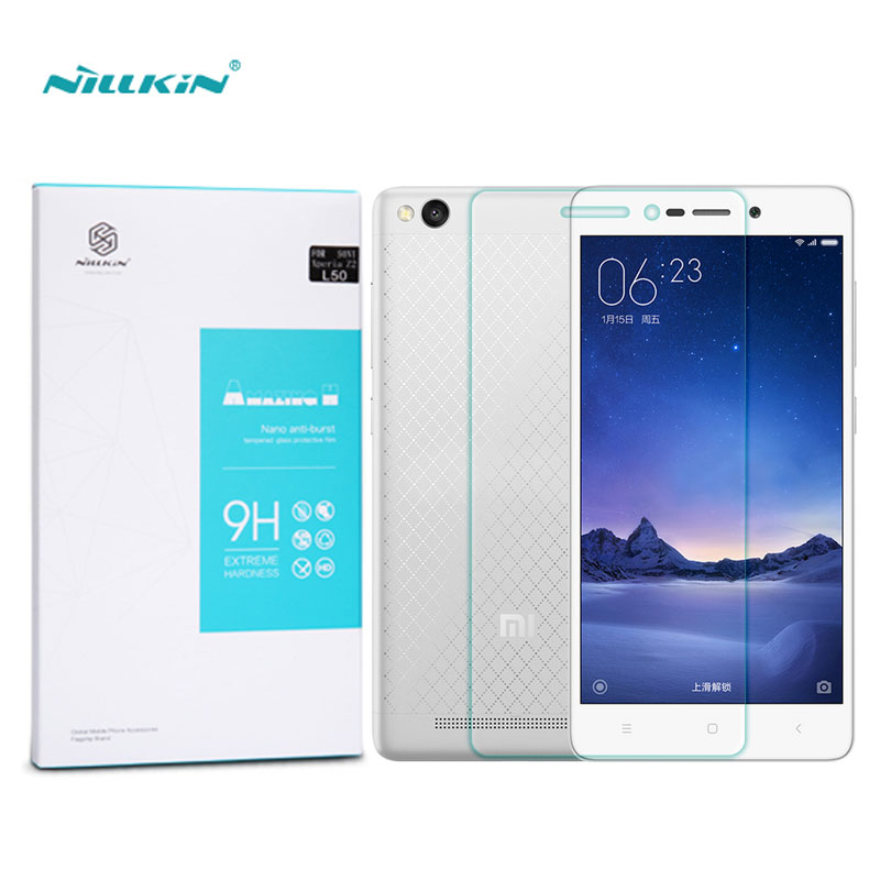 Xiaomi Redmi 3 Screen Protector 5 0 inch Nillkin Amazing H Anti Explosion Tempered Glass For