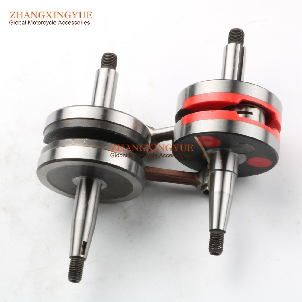 купить High quality Crankshaft 12mm For Minarelli MBK X-Limit X-Power Peugeot XP6 XPS AM345 AM6 недорого