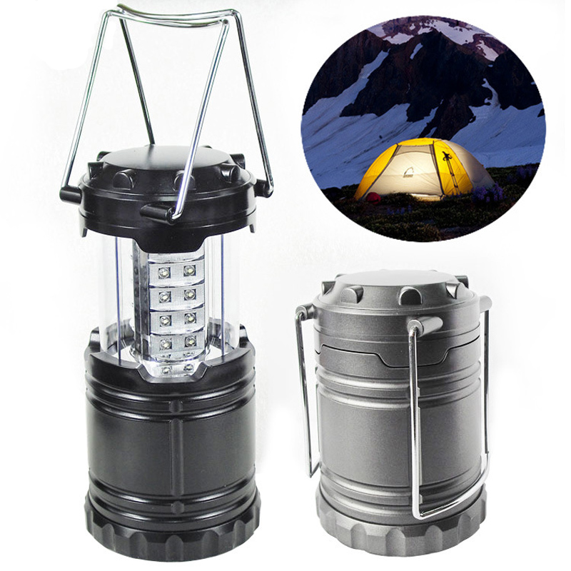 New Ultra Bright Collapsible 30 Led Lightweight Camping Led Lantern tent Light For Hiking Camping Emergencies Portable Lantern