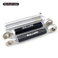 For SUZUKI GSR 600 GSR400 CNC 7075 Alumunum Rear Lowering Adjustable Links Kit Motocycle Accessories