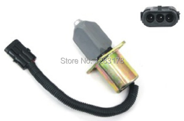 Shut down Shutoff Stop Solenoid Valve Synchro Start 129953-77803, 129953-77810, SA-4754-12 fit for synchro start electric fuel shut down solenoid 1504 12c2u1b1s1 12 vdc