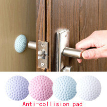 1PCS Wall Thickening Mute Door Stick Golf Styling Rubber Fender Handle Door Lock Protective Pad Protection Decor Wall Stick(China)