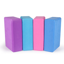 Sell Like Hot Cakes EVA Yoga Block Colorful Foam Brick Exercise fitness Tool Stretch Aid Body Shaping