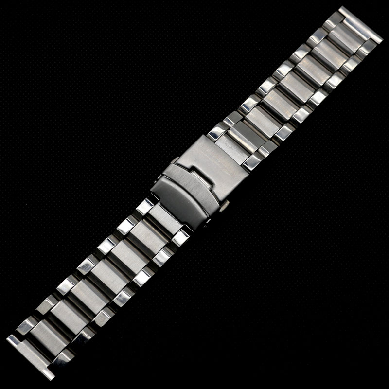 22mm Bracelet for Hours Stainless Steel Watch Strap for Men Women Correa reloj fresh style stainless steel bracelet for men