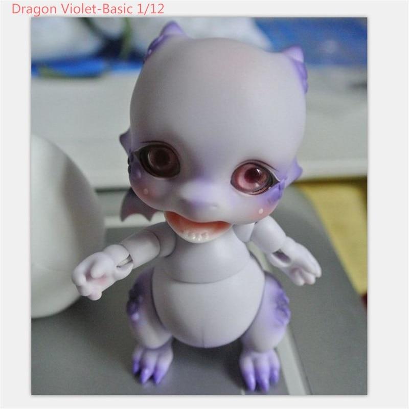 OUENEIFS BJD SD résine poupées Aileendoll Dragon pourriture timide Violet cendres de base Lucy Cathy corps modèle filles garçons jouets de haute qualité - 5