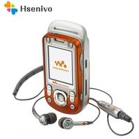 W600 100% Original Unlocked Sony Ericsson W600 w600i Mobile Phone 2G Bluetooth FM Unlocked Cell Phone Free shipping