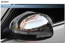 ABS Chrome Боковая Дверь Зеркало Заднего Вида Крышки Украшения Накладка Для Volkswagen VW Tiguan 2009 2010 2011 2012