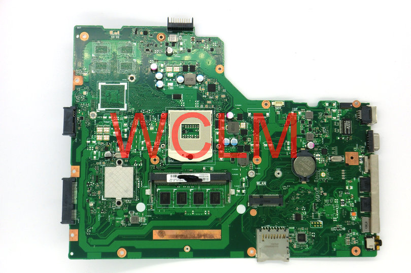 free shipping original X75A X75VD laptop motherboard MAIN BOARD mainboard 2G RAM memory 100% Tested Working free shipping new original g55vw motherboard main board mainboard gt660m video card n13p ge a2 100% tested