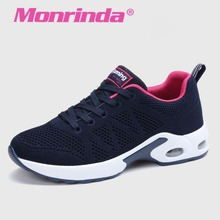 2017 Newest Sneakers Women Breathable Running Shoes For Women Damping Sport Shoes Woman Summer Outdoor Jogging Blue Sneaker A22