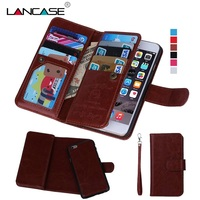 Coque Phone Cases For IPhone 5 5S Magnetic Luxury Retro PU Leather Capa Cover With Card