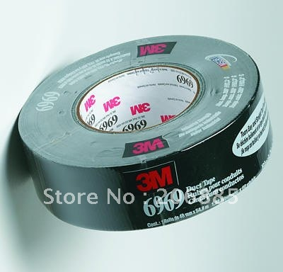 100 Original 3M 6969B Cloth Duct tape Ruban pour condults tape strong water proof backing 48mm