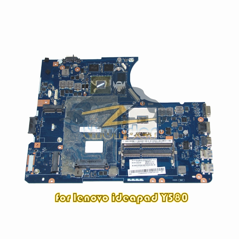 11S90000447 LA-8002P for lenovo ideapad y580 laptop motherboard hm76 ddr3 GTX660M Video Card