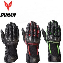 2015  DUHAN DS-02 sheepskin motorcycle racing gloves ,leather guantes MOTO motorbike motocross protection M L XL XXL