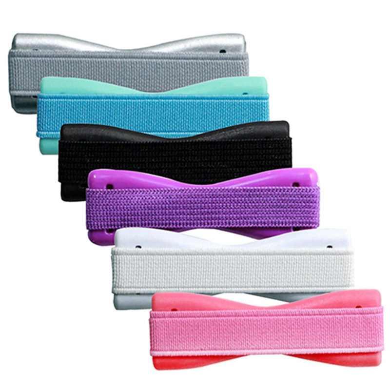 Универсальный палец держатель телефона Пластик эластичная лента для телефона Нескользящие подставка для Планшета Телефона