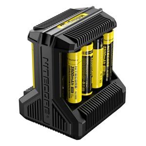 Image 2 - Nitecore i8 インテリジェント充電器 8 スロット 4A 出力スマートバッテリ充電 IMR18650 16340/10440 aa aaa 14500 26650 車の充電 c2