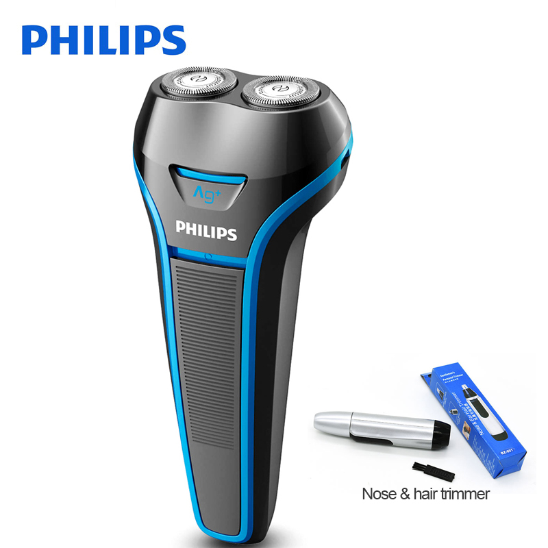 100% Original Philips Electrice Shaver S116 Rotary Rechargeable For Men's Electric Razor Whole Body Wash With Ni-MH Battery philips brl130 satinshave advanced wet and dry electric shaver