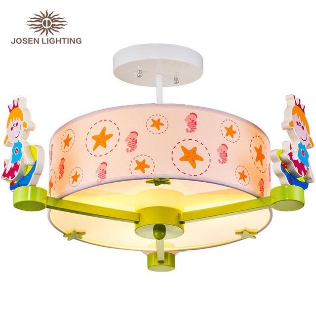 Cartoon Kids Ceiling Light Bedroom Night Lamp Room For Children Sleep